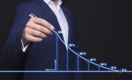 Geschäftsmann und Zeitplan vektor abbildung