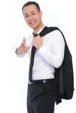 Geschäftsmann-Zeigen Stockbild