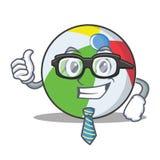 Geschäftsmannballcharakter-Karikaturart Lizenzfreie Stockfotos