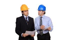 Geschäftsmanndebattieren Lizenzfreie Stockbilder