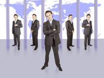 Geschäftsmannerfolg lizenzfreie stockfotografie