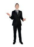 Geschäftsmannfang etwas Lizenzfreies Stockbild