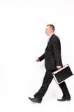 Geschäftsmanngehen Lizenzfreies Stockbild