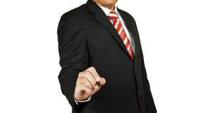 Geschäftsmannhandzeichnung lizenzfreies stockfoto