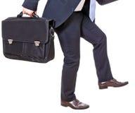 Geschäftsmannklettern Stockbilder