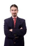 Geschäftsmannportrait Stockfoto