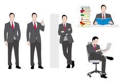 Geschäftsmannsatz Lizenzfreies Stockbild