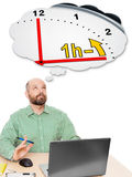 Geschäftsmannsommerzeit Stockbilder