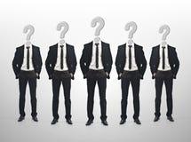 Geschäftsmannteamwork-Konzept Lizenzfreie Stockfotografie