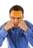 Geschäftsmannunterbrechung Lizenzfreies Stockfoto