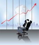 Geschäftsmannvektor Lizenzfreie Stockfotos