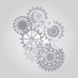 Geschäftsmechanismuskonzept entziehen Sie Hintergrund Lizenzfreies Stockfoto