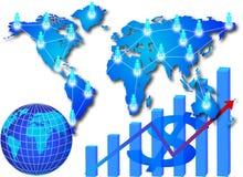 Geschäftsnetz stock abbildung
