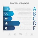 Geschäftspapier Diagramm lizenzfreie abbildung