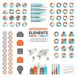 Geschäftspfeile infographic, Diagramm, Diagramm Lizenzfreie Stockbilder