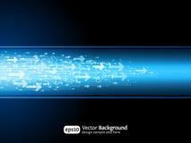 Geschäftspfeilsite-Hintergrund Lizenzfreies Stockfoto