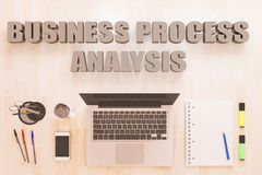 Geschäftsprozess-Analyse Stockfotos