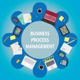 Geschäftsprozess-Managementkonzept Lizenzfreies Stockbild