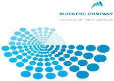 Geschäftsschablonenhintergrund Lizenzfreie Stockbilder
