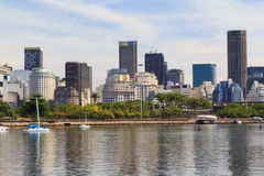 GeschäftsStadtzentrum von Rio de Janeiro Lizenzfreies Stockbild