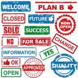 Geschäftsstempel Lizenzfreies Stockbild