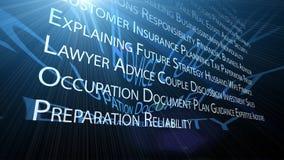 Geschäftsstrategie Lizenzfreie Abbildung