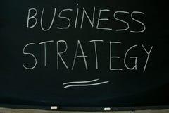 Geschäftsstrategie Lizenzfreies Stockbild
