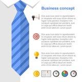 Geschäftsstrategie-Darstellungsdia Stockfotos