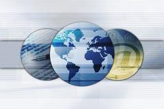 Geschäftssymbole   Lizenzfreies Stockfoto