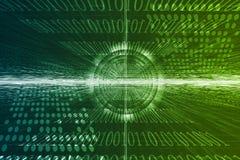 Geschäftssystem-abstrakter Hintergrund Stockfotografie