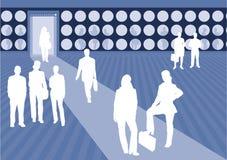Geschäftsszene 4 Stockbilder
