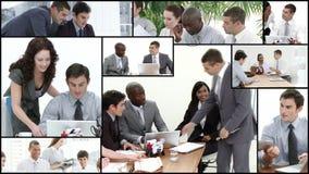 Geschäftsteam stock video