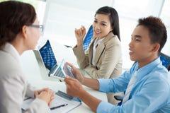 Geschäftskonferenz Stockfoto