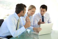 Geschäftsteam der leitenden Angestellten Stockbild