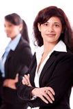 Geschäftsteam-Verschiedenartigkeitsglückliches getrennt Stockfoto