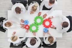 Geschäftsteam-Zusammenarbeitskonzept lizenzfreies stockfoto