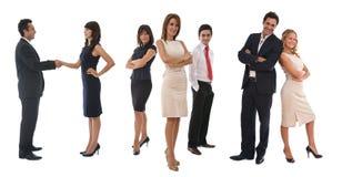 Geschäftsteamwork Stockbild