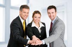 Geschäftsteamwork Lizenzfreies Stockfoto
