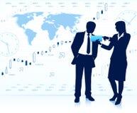 Geschäftsteamwork Stockfotografie