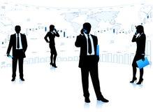 Geschäftsteamwork Lizenzfreie Stockfotografie