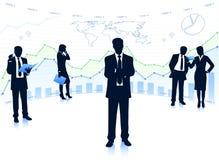 Geschäftsteamwork Lizenzfreie Stockbilder