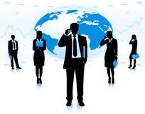 Geschäftsteamwork Lizenzfreies Stockbild