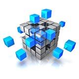 Geschäftsteamwork-Internet-Kommunikationskonzept stock abbildung
