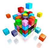 Geschäftsteamwork-Internet-Kommunikationskonzept lizenzfreie stockfotos