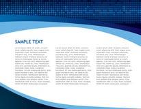 Geschäftstechnologie-Auszugshintergrund Lizenzfreie Stockbilder