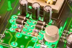 Geschäftstechnologiechip Stockbild