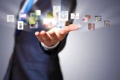 Geschäftstechnologien heute Lizenzfreies Stockfoto