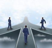 Geschäftsteilhaberschaften stock abbildung