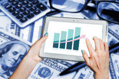 Geschäftstendenzen, Entwicklung, Wirtschaftswachstum lizenzfreie stockfotografie