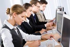 Geschäftstraining lizenzfreie stockfotos